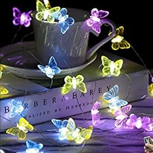 Garden Party Butterfly Wire Lights LED